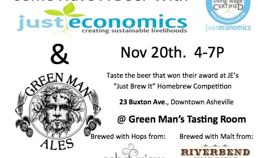 Green Man Ales Just Economics Event