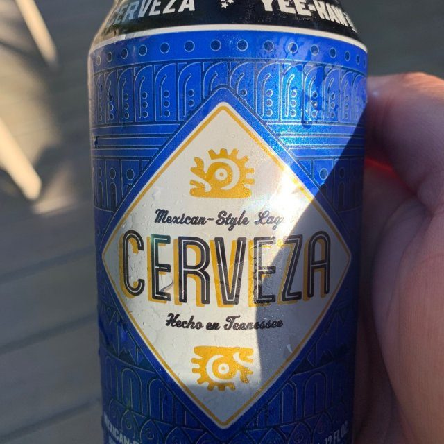 YeeHaw Cerveza Can